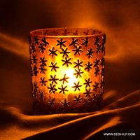 Decorated Small T Light Candle