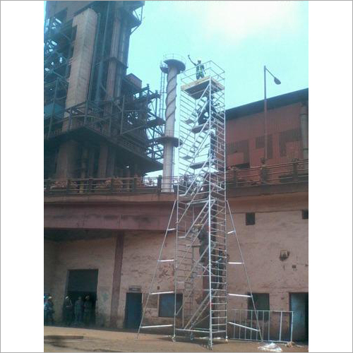 Industrial Aluminum Staircase Tower