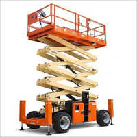 Heavy Duty Diesel Operated Scissor Lift