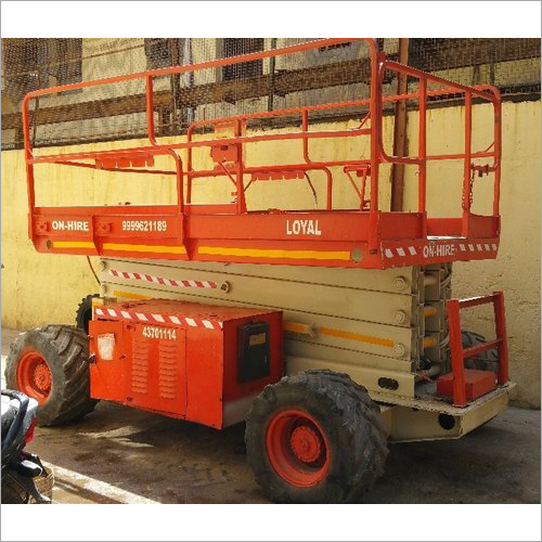 Diesel Operated Scissor Lift