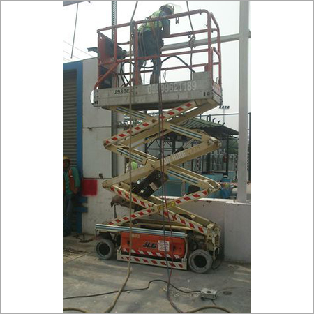 Industrial Scissor Lift On Hire