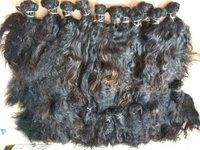 Natural Black 100% Bulk Weft Human Hair Extension