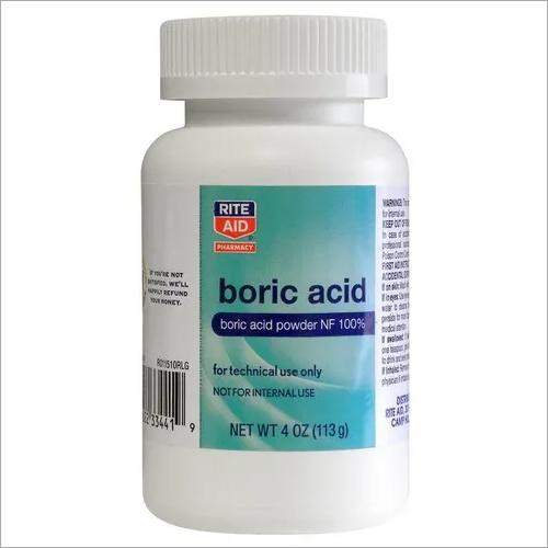 Boric acid,  CAS Number: 10043-35-3, 500g