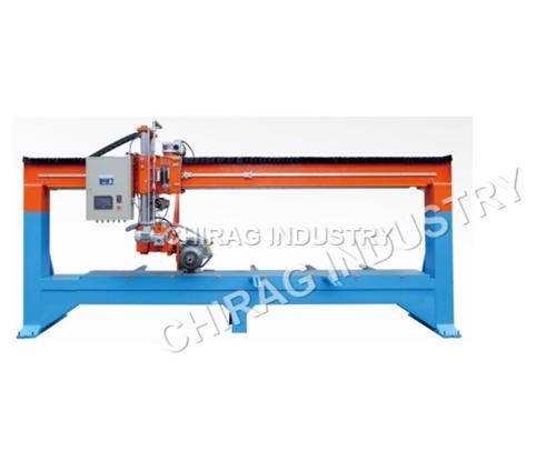 PLC Bridge Type Edge 45 Degree Chamber Noshing Machine