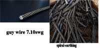 GUY WIRE AND SPIRAL EARTH