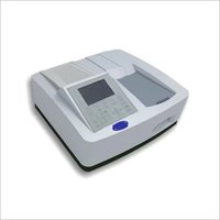 Microprocessor uv vis double beam spectrophotometer exclusive model variable bandwidth with software