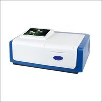 Microprocessor uv vis double beam touch screen spectrophotometer  with softwere