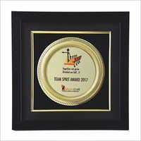 Wooden Frame Corporate Award