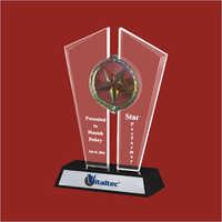 Silver Acrylic Trophy