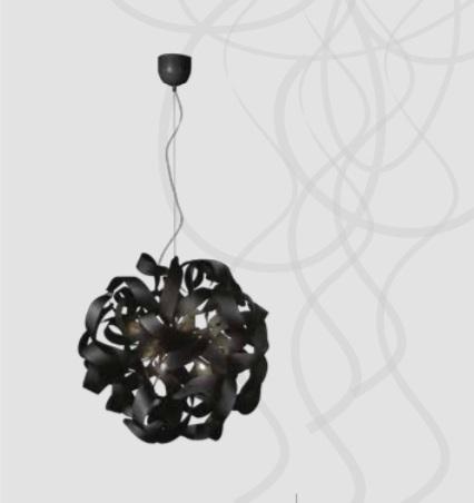 Black Aluminium Pendant Light