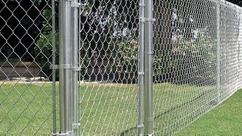 Chain Link Fencing Jali