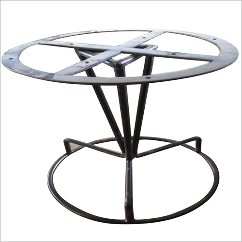 Wrought Iron Round Table