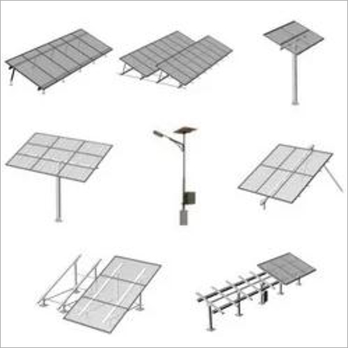 Solar Panel Structure Fabrication Installation Service