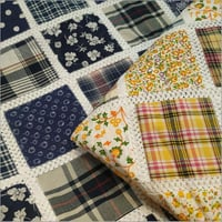 Printed Patch Cotton Fabric