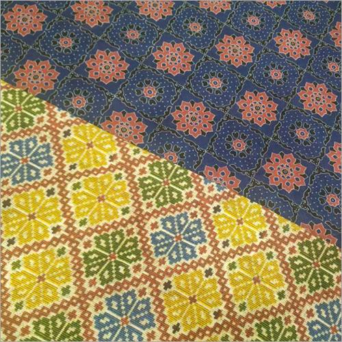 Patola数字式打印的织品