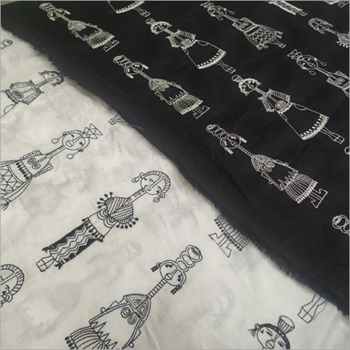 Embroidered Designer Fabric
