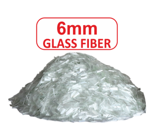 6 MM Glass Fiber For Construction Plaster