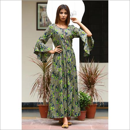 Beautiful Printed Maxi Dress