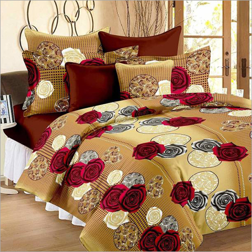 Multicolor Printed Bed Sheet