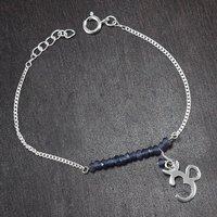 Jewelry Manufacturer Bracelet Iolite Gemstone 925 Sterling Silver New Bracelet Jaipur Rajasthan India