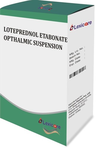 Lotprednol Etabonate Opthalmic Suspension