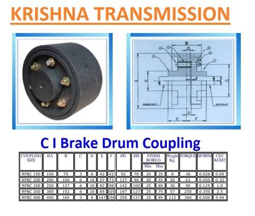 C I Brake Drum Coupling
