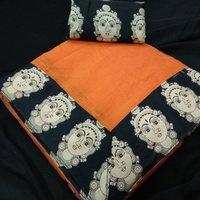 Designer Chanderi Silk Saree, Partywear Saree