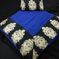 Designer Chanderi Silk Saree, Partywear Saree