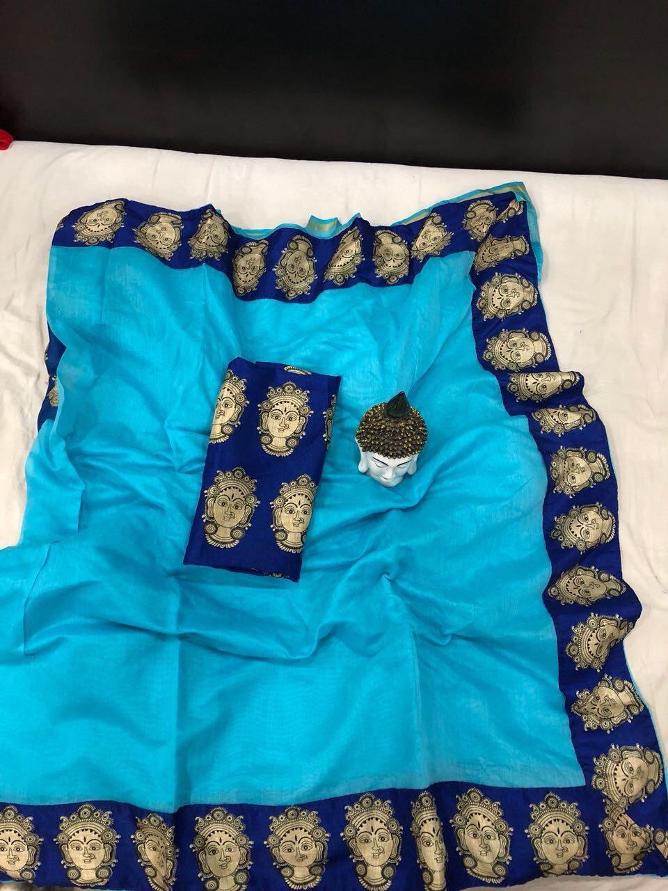 Chanderi Silk Saree Collection, Partywear Saree Collection