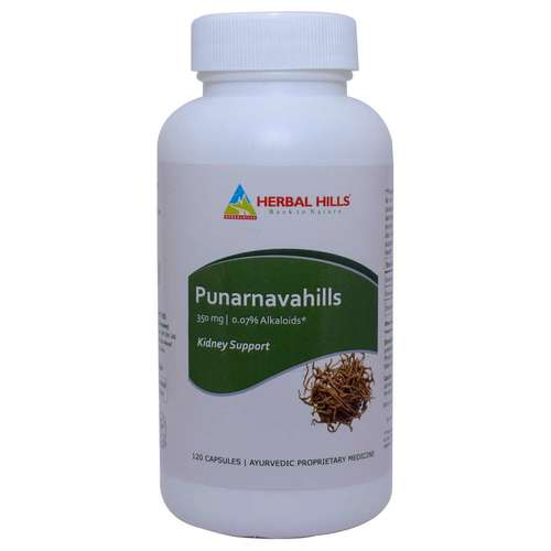 Ayurvedic medicine for kidney stone - Prostate care capsule - Punarnava 120 Capsule