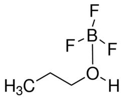 Boron trifluoride propanol complex,  CAS Number: 762-48-1, 100g