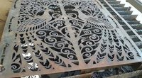 metal art cutting design