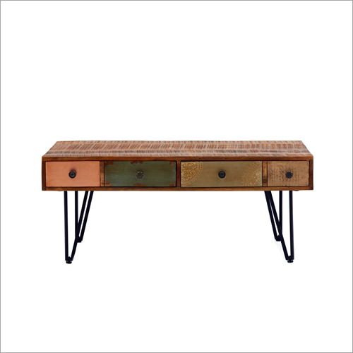 Wrought Iron Hairpin Leg Sideboard