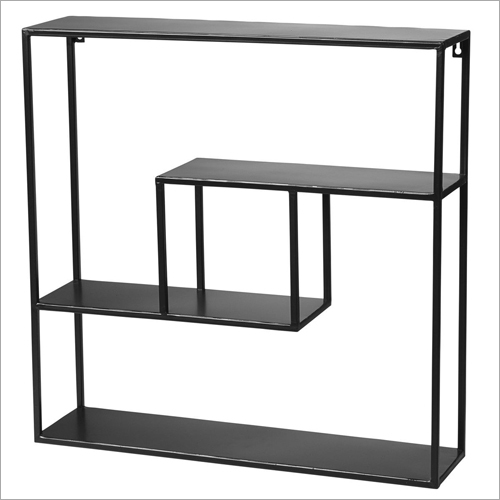 Wrought Iron Floating Shelves Storage Shelf