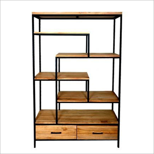 Wrought Iron Bookshelf