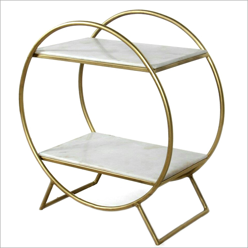 Wrought Iron Round Shelf