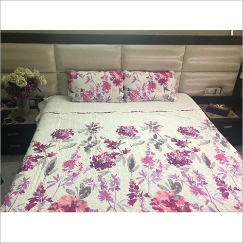Floral Printed Bed Covers