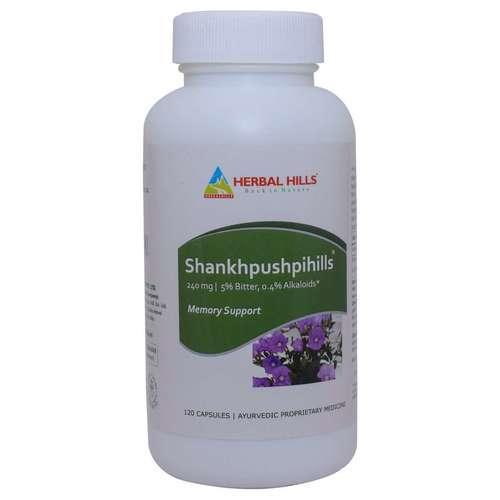 Ayurvedic Medicine for Memory & Concentration - Shankhpushpi 12   0 Capsule