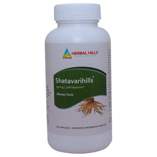 Best Ayurvedic Medicine for Women's Health - Shatavari 120 Capsule