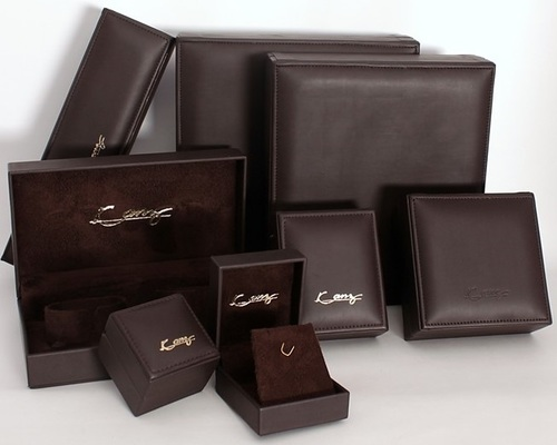 Black -Leather Jewelry Box series
