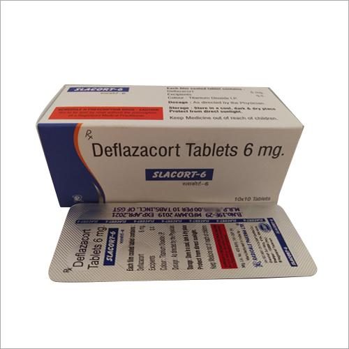 6mg Deflazacort Tablets