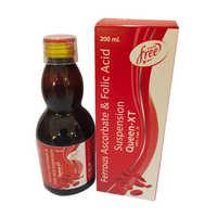 200ml Ferrous Ascorbate And Folic Acid Suspension