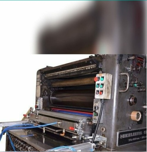 uv coator attachment offset printing machine
