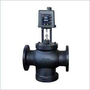 Electronic differential pressure control valve