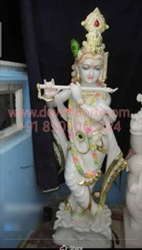 Beautiful Radha Krishna statue