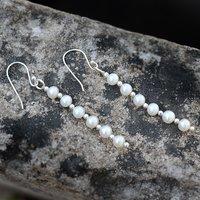 Handmade Jewelry Manufacturer Pearl Gemstone Jaipur Rajasthan India 925 Sterling Silver Earring