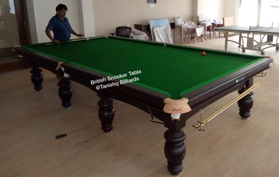 British Billiards Table
