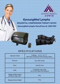 Kyosungmed Lympha KL 2000 Black Full Set