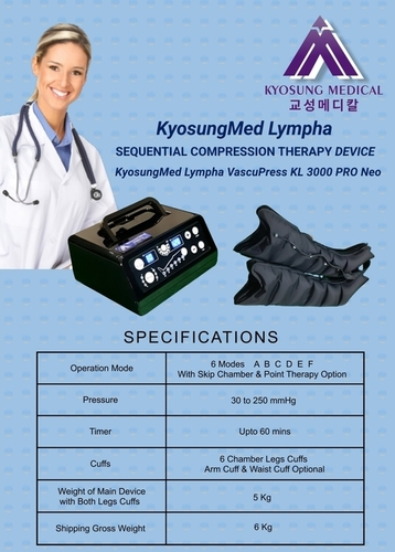 3000 PRO Kyosungmed Lympha KL Machine