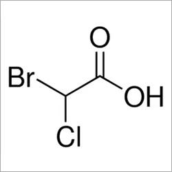 Bromochloroacetic Acid,  CAS Number: 5589-96-8, 1g